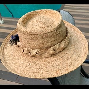 Cute straw hat